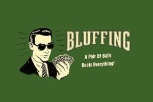 How to Bluff When Playing Poker